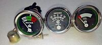 Temperature Amp Oil Gauge Set for Farmall IH H, M,W4-9 T6 IHC 1939 - 1946
