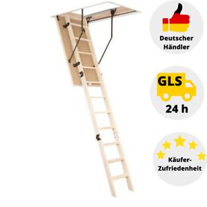 Dachbodentreppe Gedämmte Bodentreppe Speichertreppe Fichte Holz Treppe 120x70 cm