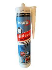Sopro Sanitär Silicon 310 ml Bad Fliesen zum elastischen Füllen Weiß Unterwasser