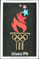 POSTCARD - GIOCHI OLIMPICI OLIMPIADI OLYMPIC GAMES ATLANTA 1996