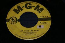 JONI JAMES - YOU ARE MY LOVE / I LAY ME DOWN TO SLEEP - 1955 VG+ on MGM OOP
