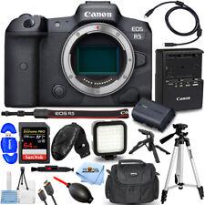 Canon EOS R5 Mirrorless Digital Camera (Body Only) + 64GB + Tripod Bundle