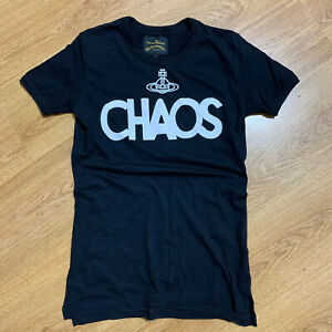 Mens Vivienne Westwood Anglomania Classic Chaos Tee T-Shirt Size S