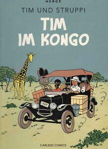 Tim und Struppi von Hergé * Farbfaksimile * Band 1: Tim im Kongo * Z2