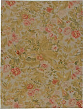 Contemporary Bessarabian Floral Handwoven Wool Carpet N11029