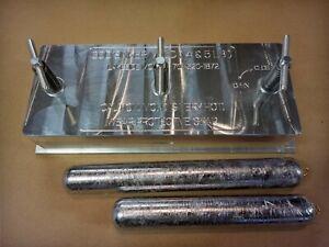 Cod Sinker / Deep Drop Weight Mold ( 2 Cavity ) 4# - 5# Aluminum CNC