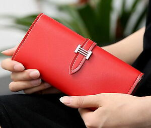 Synthetic leath Wallet Coin Purse Card Holder Lady Clutch Bag Female Long Wallet
