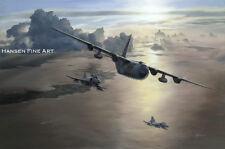 Phantom FGR.2 Hercules 1435 1312 Flight Falkland Islands Painting Art Print