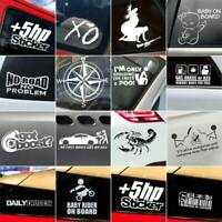 JDM Funny Car Sticker Lowered Window Truck Bumper Vinyl Graphic Decal Waterproof