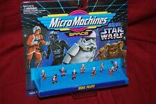 Vintage Star Wars Micro Machines Space Rebel Pilots Galoob 1994 - MIB