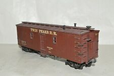 HO scale vintage wood body Twin Peaks RR 42' camp bunk MW MOW car train