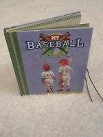 My Baseball Star Photo Album Memory Book Scrapbook New