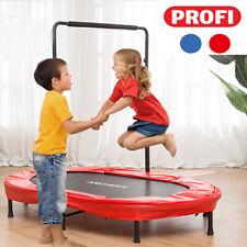 Profi Kindertrampolin, Garten Trampolin für Zwei Kinder Indoor Sport Bis 100KG