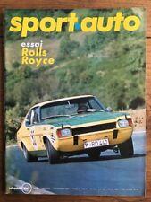SPORT AUTO n 94 de Nov 1969 ROLLS ROYCE SILVER SHADOW GP USA et CANADA