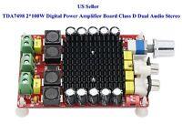 US TDA7498 2*100W Digital Power Amplifier Board Class D Dual Audio Stereo