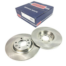 A PAIR OF BORG & BECK REAR BRAKE DISCS FITS PEUGEOT 607, 407 2004 ONWARDS 4249C1