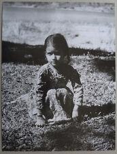 Photo Népal Voir Signature Petite Népalaise Vers 1960
