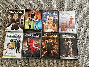 Project Runway DVD Complete Season Lot RARE 1 2 3 4 5 6 7 8 Heidi Klum 8 Seasons