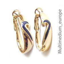 Pierre Lang Creolen Ohrringe Ohrstecker vergoldet earrings gilt