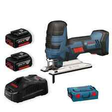 Bosch Professional GST 18 V-LI Akku-Stichsäge+2x6,0Ah Akku+Ladegerät+L-Boxx