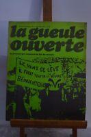 ANCIENNE REVUE JOURNAL LA GUEULE OUVERTE N° 2 CECEMBRE 1972 SATYRIQUE
