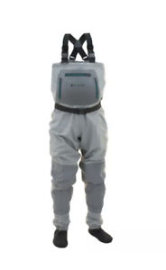 Hellbender Frogg Toggs breatheable waders & pants mens 7 gray NIB