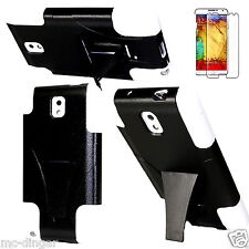 White Kickstand Hybrid Rugged Armor Combo Case Cover For Samsung Galaxy Note 3