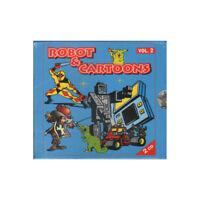 AA.VV. 2 CD Robot & Cartoons Vol 2 Sigillato 8012958854279