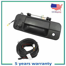 Tailgate Handle W/Camera Assembled & 8M Cable For 2007-2013 Toyota Tundra Black