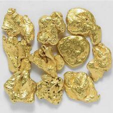 20 Pepitas De Oro Natural De Alaska Con Certificado 20-21-22-23kt Pepita Nugget