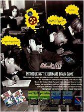 1993 GEAR WORKS Sega Game Gear Nintendo Game Boy video game print ad page