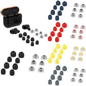 For Sony WF-1000XM3 Wireless Earphones 7 Pairs Silicone Ear Bud Tips Cover Pads
