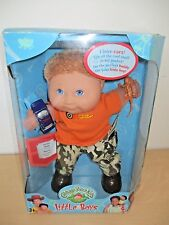 1999 CABBAGE PATCH KIDS *LITTLE BOYS* DOLL BY MATTEL. SEALED NIB.