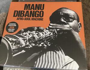 Manu Dibango : Afro-Soul Machine CD 2 discs (2011) ***NEW*** Fast and FREE P & P