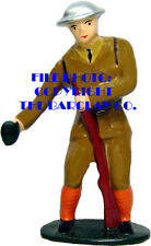 #6069 - Soldier Throwing Grenade, Repro Of Scarce Tommy Toy Piece!