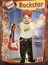 Boys Baby Infant HALLOWEEN costume ROCKSTAR size 12-24 Months