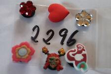 6 Pins für Clogs,Charm,Stecker,neu,#2296