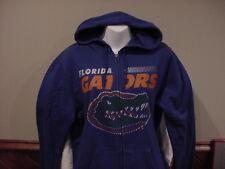 BEAUTIFUL Florida Gators Women's Md Majestic Blue Zippered Hoodie, NEW&NICE!!