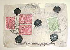 NEPAL   #45,46 x3 WITH 5 WAX SEALS
