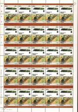 1940 SNCF Class 160-A-1 Chapelon France Train 50-Stamp Sheet / LOCO 100 LOTW
