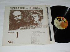 LEO FERRE Chante Verlaine et Rimbaud LP Volume 1 Barclay Léo Ferré Quebec French