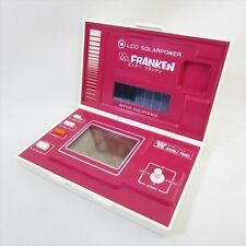 BANDAI Mr. FRANKEN Hand Held Game Game & Warch LCD Solarpower JAPAN Game 1354