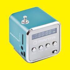 Portabler Mini-Lautsprecher/CUBE FM Radio mit Antenne/MP3