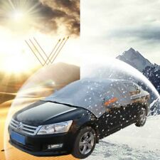Car Front Windshield + Side Rearview Mirror Snow Ice & Sun Shade Protector Cover