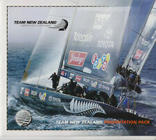 NEW ZEALAND STAMP SET FDC 2003 PRESENTATION PACK AMERICA'S CUP
