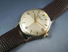 Vintage Longines Wittnauer 10K Gold GF  Automatic Mens Watch 17J 11ARb 1950s