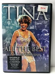 Tina Turner All the Best The Live Collection DVD, 2005 FAST SHIP & TRACKING