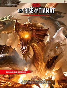 Dungeons & Dragons The Rise of Tiamat Adventure NEW