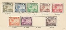 1951 Lagoon Beach Set Mint Light Hinged Missing the 50L as per Scans