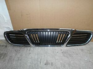 2001 Daewoo Lanos 2dr  Factory chrome front grille Black and chrome grill